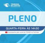 TCMGO realiza hoje, 28.7, Sessão do Pleno por videoconferência
